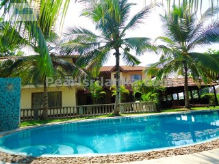 HIKKADUWA BOUTIQUE HOTEL WITH 6 BEDROOMS & POOL WITH LAKE VIEW ( 40 PERCHES & 1000 SQ.M) | 7 Pièces | 6WC