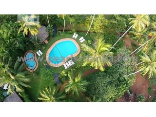 BENTOTA/ LAKE RIVER FRONT BOUTIQUE HOTELS /9 A/C LUXURIOUS ONE-BEDROOM BUNGALOWS |