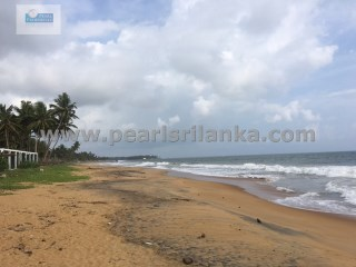GALLE/ BEACH PLOT WITH BEAUTIFUL SANDY BEACH /61 PERCHES(SQ.M 1525) |
