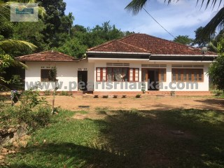 GOOD RENOVATION-PROJECT TO CREATE A VILLA IN GALLE AREA/ 129 PERCHES (SQ.M 3225) | 3 Bedrooms | 1WC