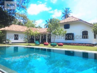 BEAUTIFUL COLONIAL STYLE VILLA WITH 3 BEDROOM WITH POOL (300 PERCHES/SQ.M7600 ) | 3 Bedrooms | 3WC