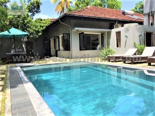 UNAWATUNA 6 BEDROOMS HOUSE WITH  POOL/ 45 PERCHES (SQ.M 1125)  | 6 Bedrooms | 5WC