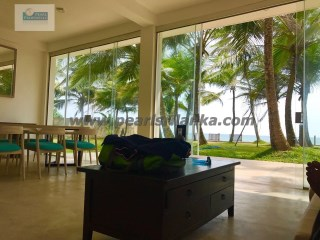 BEACH FRONT 4 BEDROOM VILLA IN BENTOTA AREA/BALAPITIYA/49.5 PERCHES(SQ.M 1237.5)  | 5 Pièces | 3WC
