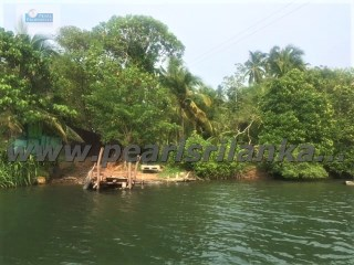 BUILDING PLOT AT RATHGAMA LAKE WITH DIRECT WATER ACCESS / 27.63 PERCHES (SQ.M 690.75) |