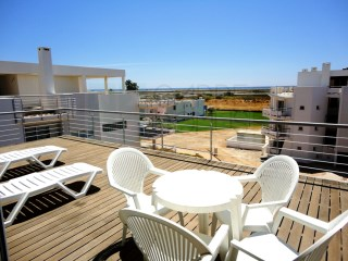 Duplex-2 apartments T1 and T2, terrace, sea views, Golden Club Cabanas, Tavira | 5 Bedrooms | 3WC