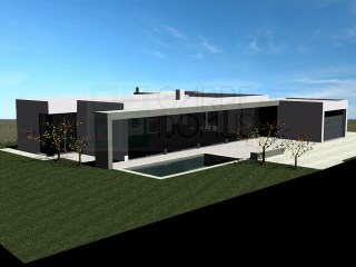 Brand new modern 4 bedroom villa with garage (box) and pool in a plot of 807 sqm in Tavira (Algarve) | 4 多个卧室 | 2WC