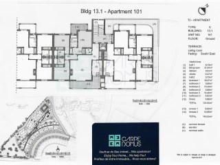 BRAND NEW 3 Bedroom apartment in a private condo with pool, parking spot, in Cabanas de Tavira (Algarve) – NEW! | 3 多个卧室 | 4WC