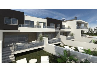 Terraced house 3 bedrooms +1 in plant, contemporary architecture-Quinta do Pinheiro | 3 Bedrooms