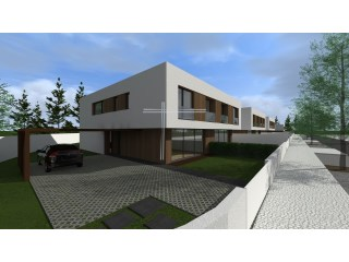 Sell townhouse V4, new, contemporary architecture, with garage for 2 cars, pool-Urbanization the braids (Azeitão) | 4 Bedrooms | 4WC