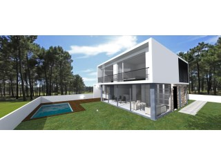 Detached house 4 bedrooms new with 149m2, with 7x3m2 pool, garage | 4 Bedrooms | 3WC