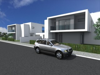 Detached house 4 bedrooms, new with 180 m 2 floor area, with swimming pool, alarm, air conditioning pre-installation | 4 Bedrooms