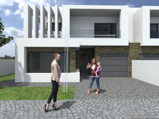 Semi-detached house 4 bedrooms-Pool, Garage 22 m 2, land 250m2 | 4 Bedrooms | 3WC