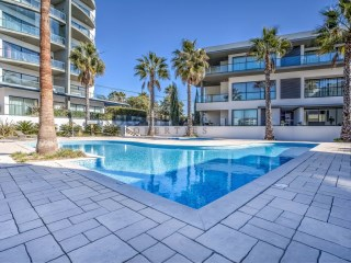 Fabulous new 3 bedroom apartment in luxury surroundings with pool in Quarteira, Algarve. | 3 Zimmer | 2WC