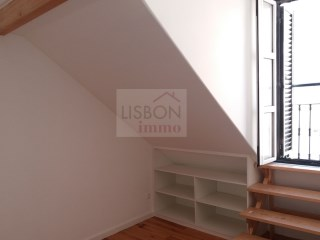 Apartment fully recovered in Lisbon | Graça | 1 Bedroom | 1WC