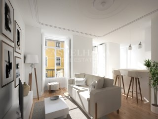 Chiado 76, 1 and 2-Bedroom Apartments, lounge%4/11