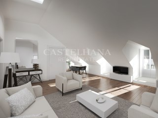Chiado 76, 1 and 2-Bedroom Apartments, lounge%11/11
