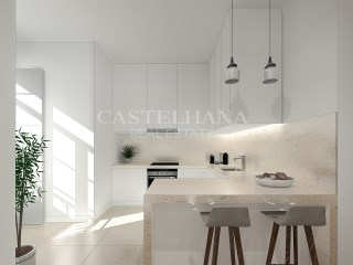 Chiado 76, 1 and 2-Bedroom Apartments, Kitchen%7/11