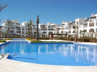 Completo golf resort en Murcia | 2 Habitaciones | 1WC