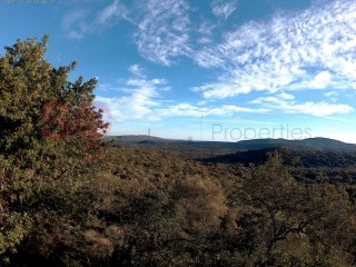 Rural plot with 2275 m2.  Sea and mountain views. |