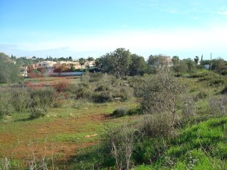 Lovely plot in Vale Formoso, one km from Almancil. |