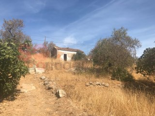 Lovely south facing plot (9,200 m2) with a ruin offering the possibility of construction up to 300 m2 plus pool and terraces.  Expansive countryside views. |
