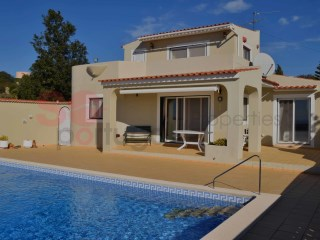 Three bedroom villa with pool in a lovely elevated plot giving spectacular sea views | 3 Bedrooms | 3WC