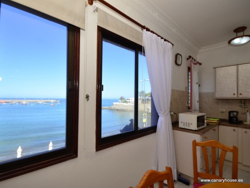Arguineguin, apartment for rent overlooking the sea, Gran Canaria. | 1 Bedroom