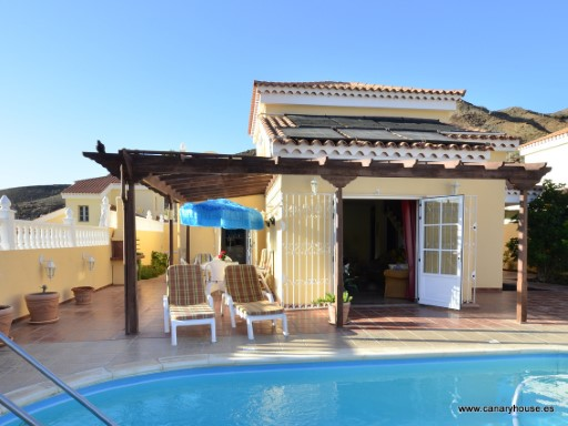 Property for sale, Villa  in Tauro, Mogan, Gran Canaria, Canary Islands. | 3 Bedrooms | 2WC