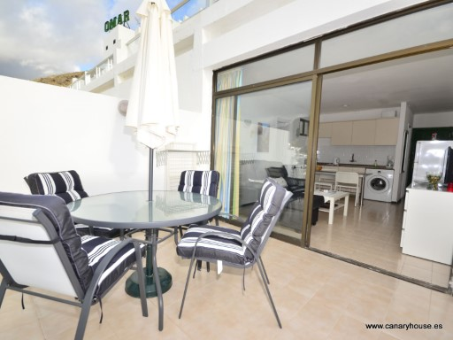 Appartement te huur in Puerto Rico, Gran Canaria.  Geldig tot 30 September 2016. | 1 Kamer | 1WC