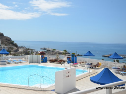 Property on sale, with views to the sea, in Puerto Rico, Gran Canaria, Islands Canary.  | 1 Bedroom | 1WC