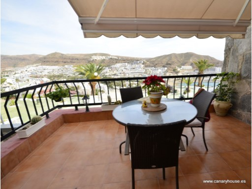 House for rent in Puerto Rico, with views to the sea. Gran Canaria. | 3 Bedrooms | 2WC