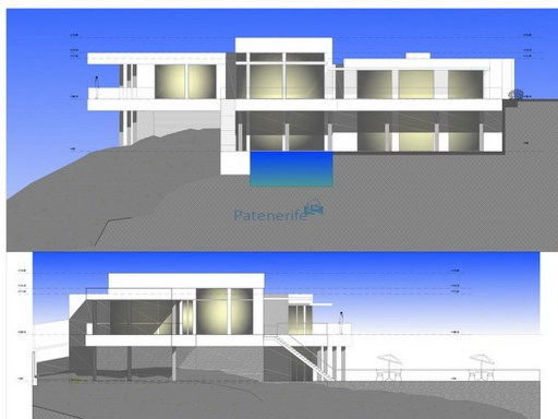 Villa in the Caleta golf under construction | 4 Bedrooms | 4WC