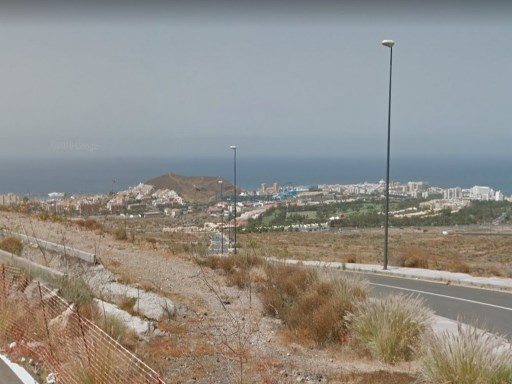 Plot for villa in los cristianos |