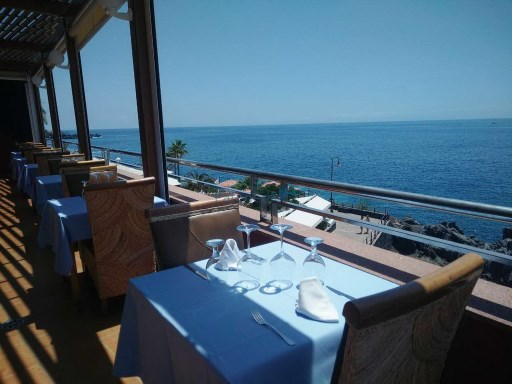 transferred restaurant sea front in los gigantes |