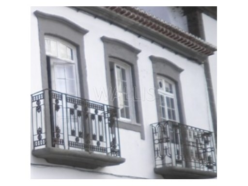 Building in the historical centre of Ponta Delgada |