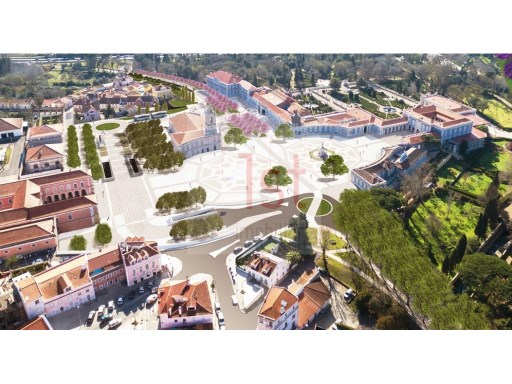 Land for construction of a building, next to the Queluz National Palace