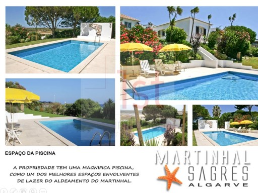 3 bedroom villa and guesthouse V1 with pool and sea views, only a few meters from the beach | 4 Bedrooms | 4WC
