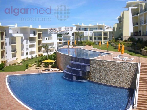 ALGARVE - Albufeira - 2 bedroom apartment for sale, in a private condominium with swimming pool, with 2 private parking spaces | 2 Zimmer | 1WC