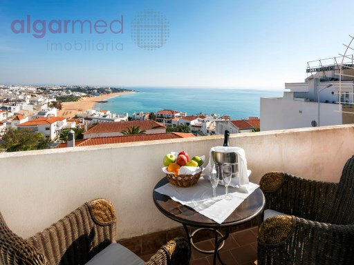 ALGARVE - Albufeira - 2 bedroom apartment for sale, with stunning views to the sea and the city | 2 Zimmer | 1WC