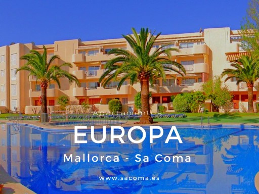 MALLORCA, SA COMA, APARTMENT OVERLOOKING THE SEA IN BEACH FRONT | 2 Bedrooms | 1WC