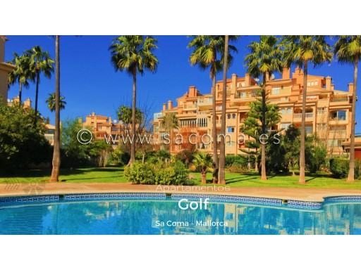 MALLORCA, SA COMA, GOLF APARTMENTS | 2 Bedrooms | 2WC