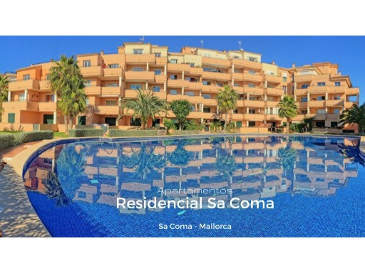 Mallorca, Sa Coma, 3 bedroom ground floor apartment  | 3 Bedrooms | 2WC