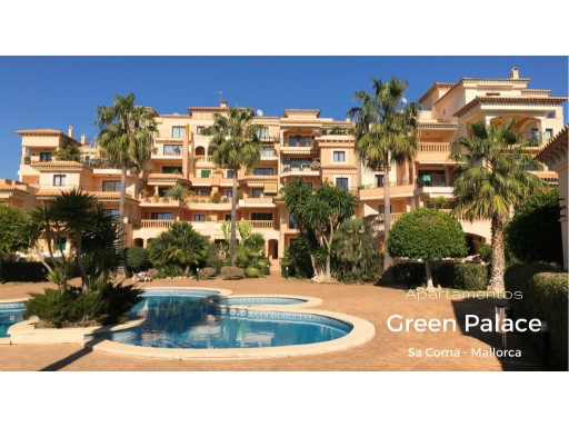 MALLORCA, SA COMA, SEA GREEN, APARTMENT FOR SALE, GREEN PALACE | 2 Bedrooms | 2WC