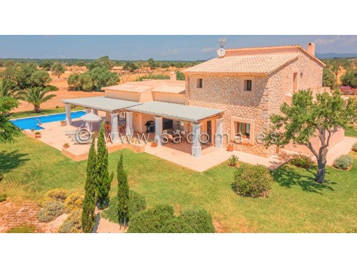 Mallorca, Campos, exclusive Finca country house with pool  for Sale | 4 Bedrooms