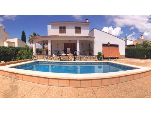 Mallorca, Sa Coma, Villa with pool and Garage | 4 Bedrooms | 2WC
