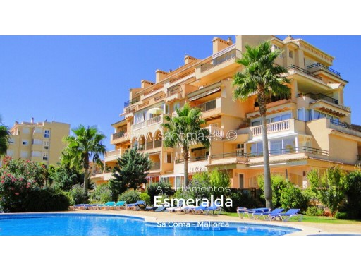 Mallorca, Sa Coma, Apartment with swimming pool 'Emerald apartments' | 3 Bedrooms | 2WC