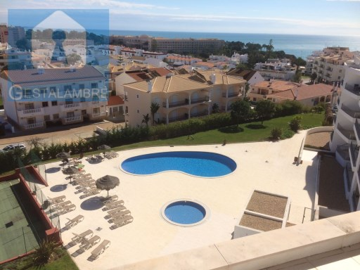 One bedroom apartment with sea view for sale in Olhos de Agua, Albufeira | 1 Bedroom | 1WC