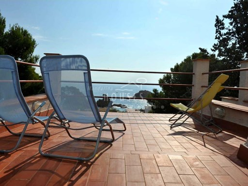 House semi-detached, sunny, walking distance to the beach, overlooking the sea in Tossa de Mar ref.1314 | 3 Bedrooms | 2WC