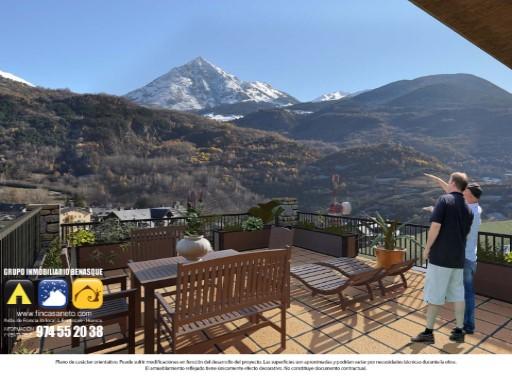 Duplex › Benasque | 3 Bedrooms | 2WC