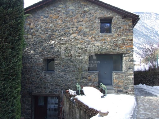 Renovated traditional Andorran house 'Borda'